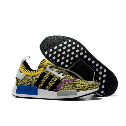 New Arrival Adidas NMD_R1 Runner PK men women Yellow Black